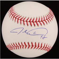 Jacob deGrom Signed OML Baseball (JSA COA)