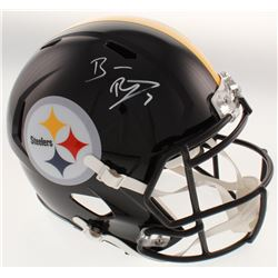Ben Roethlisberger Signed Pittsburgh Steelers Full-Size Speed Helmet (Beckett COA  Fanatics Hologram