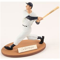Joe DiMaggio Signed LE New York Yankees Gartlan Figurine (Gartlan COA)