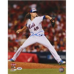 Jacob deGrom Signed 2015 All-Star Game 11x14 Photo (PSA Hologram)