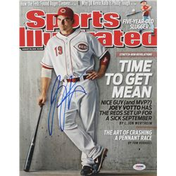 Joey Votto Signed Cincinnati Reds 11x14 Photo (PSA Hologram)