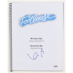 "Kevin Bacon Signed ""Footloose"" Movie Script (PSA Hologram)"