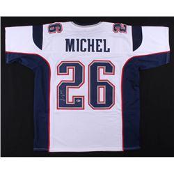 Sony Michel Signed Jersey (Beckett COA)