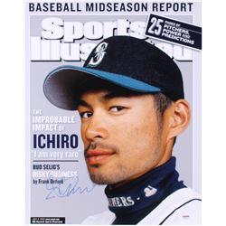 Ichiro Suzuki Signed Seattle Mariners 16x20 Photo (PSA Hologram)