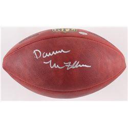 """Darren McFadden Signed Official NFL """"The Duke"""" Game Ball (Radtke COA)"""
