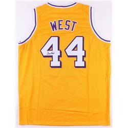 Jerry West Signed Jersey (JSA COA)
