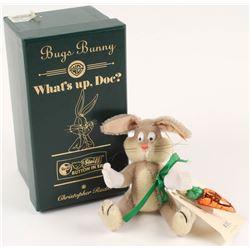 Vintage 1999 Steiff Bugs Bunny LE With Christopher Radko Ornament