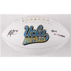 "Maurice Jones-Drew Signed UCLA Bruins Logo Football Inscribed ""2005 All American"" (Radtke COA)"