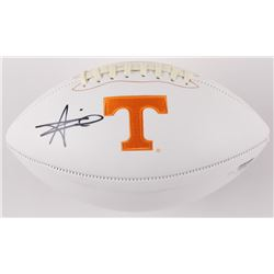 Alvin Kamara Signed Tennessee Volunteers Logo Football (Radtke COA)