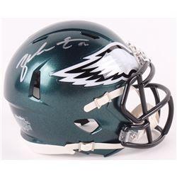 Zach Ertz Signed Philadelphia Eagles Speed Mini-Helmet (Radtke COA)