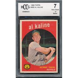 1959 Topps #360 Al Kaline (BCCG 7)