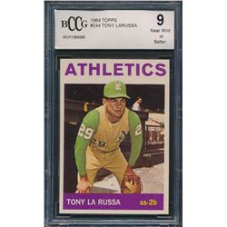 1964 Topps #244 Tony LaRussa RC (BCCG 9)