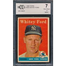 1958 Topps #320 Whitey Ford (BCCG 7)