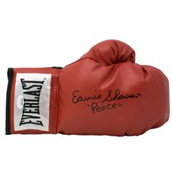 "Earnie Shavers Signed Everlast Boxing Glove Inscribed ""Peace"" (JSA COA)"