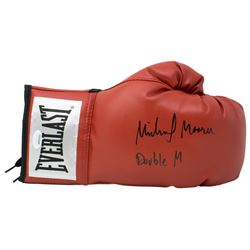 "Michael Moorer Signed Everlast Boxing Glove Inscribed ""Double M"" (JSA COA)"