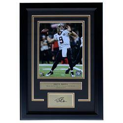 Drew Brees New Orleans Saints 11x14 Custom Framed Photo Display