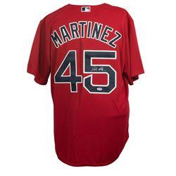 Pedro Martinez Signed Boston Red Sox Majestic Jersey (PSA COA)