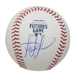 Fernando Tatis Jr. Signed 2018 All-Star Futures Game Logo Baseball (JSA COA)