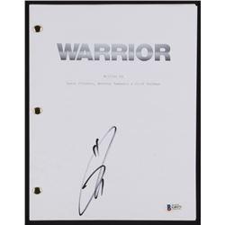 "Tom Hardy Signed ""Warrior"" Movie Script (Beckett COA)"
