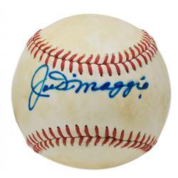 Joe DiMaggio Signed OAL Baseball (JSA ALOA)