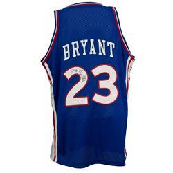 "Joe Bryant Signed Philadelphia 76ers Mitchell  Ness Jersey Inscribed ""Jelly Bean"" (Beckett Hologram)"
