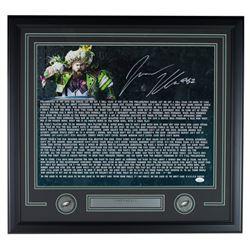 Jason Kelce Signed Philadelphia Eagles 22x27 Custom Framed Photo Display (JSA COA)