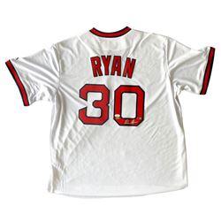 Nolan Ryan Signed California Angels Majestic Jersey (JSA COA  Ryan Hologram)