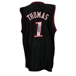 Tim Thomas Signed Philadelphia 76ers Reebok Jersey (Beckett Hologram)