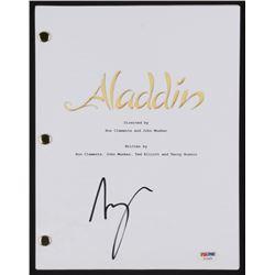 "Scott Weinger Signed ""Aladdin"" Movie Script (PSA COA)"