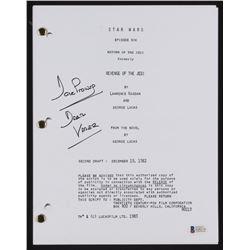 "David Prowse Signed ""Star Wars: Return of The Jedi"" Movie Script Inscribed ""Darth Vader"" (Beckett Ho"
