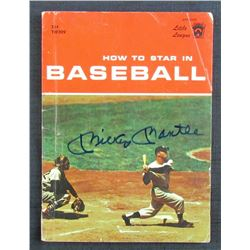 """Mickey Mantle Signed 1960 """"How to Star in Baseball"""" Softcover Book (JSA LOA)"""