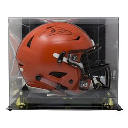Odell Beckham Jr. Signed Cleveland Browns Full-Size Authentic On-Field Speedflex Helmet with Display