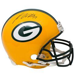 Davante Adams Signed Green Bay Packers Full-Size Authentic On-Field Helmet (JSA COA)