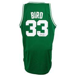 Larry Bird Signed Boston Celtics Adidas Jersey (Beckett COA)
