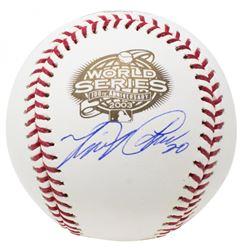 Miguel Cabrera Signed 2003 World Series Baseball (JSA COA)