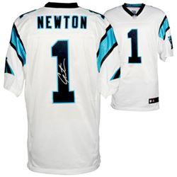 Cam Newton Signed Carolina Panthers Jersey (Fanatics Hologram)