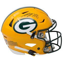 Davante Adams Signed Green Bay Packers Full-Size Authentic On-Field SpeedFlex Helmet (JSA COA)