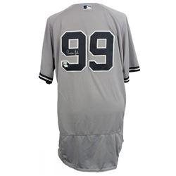 Aaron Judge Signed New York Yankees Majestic Authentic Jersey (Fanatics Hologram  MLB Hologram)