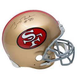 Jerry Rice Signed 49ers Full-Size Authentic On-Field Throwback Helmet (JSA COA)