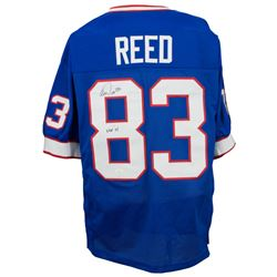 """Andre Reed Signed Jersey Inscribed """"HOF '14"""" (JSA COA)"""