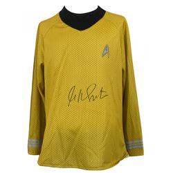 William Shatner Signed Prop Replica Uniform Shirt (JSA COA)