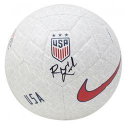 Rose Lavelle Signed Team USA Logo Nike Soccer Ball (JSA COA)