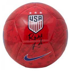 Rose Lavelle Signed Team USA Logo Soccer Ball (JSA COA)