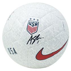 Alyssa Naeher Signed Team USA Logo Nike Soccer Ball (JSA COA)