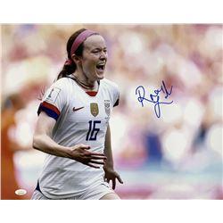 Rose Lavelle Signed Team USA Soccer 16x20 Photo (JSA COA)