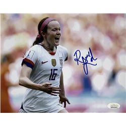 Rose Lavelle Signed Team USA Soccer 8x10 Photo (JSA COA)
