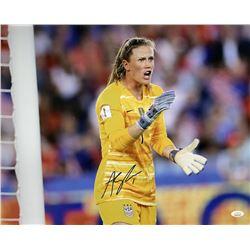 Alyssa Naeher Signed Team USA Soccer 16x20 Photo (JSA COA)