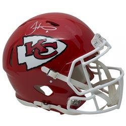 Tyreek Hill Signed Chiefs Full-Size Authentic On-Field Speed Helmet (JSA COA)