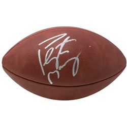"""Peyton Manning Signed """"The Duke"""" Official NFL Game Ball (Fanatics Hologram)"""