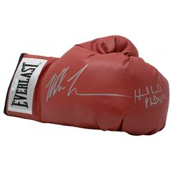 Mike Tyson  Evander Holyfield Signed Everlast Boxing Glove (JSA COA)